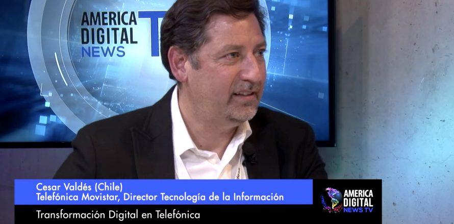 Si eres un líder de transformación digital de la industria de telecomunicaciones, te invitamos a ver entrevista realizada en nuestro medio de noticiashttps://news.america-digital.com/ con César Valdés, experto de Movistar Telefónica, quien te mostrará las claves para la modernización de las Telcos en Latinoamérica.