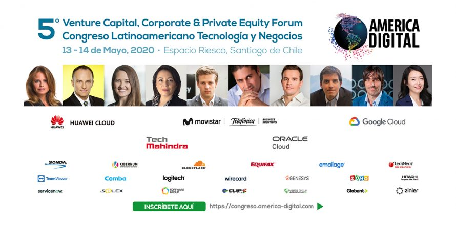 +US$ 500 millones en fondos de inversión para empresas tecnológicas trae a América Latina el 5º Venture Capital, Corporate & Private Equity Forum America Digital